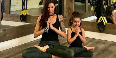 Jill Yoga Mini and Me Yoga Class with Andrea @rockinfitmomma! tickets