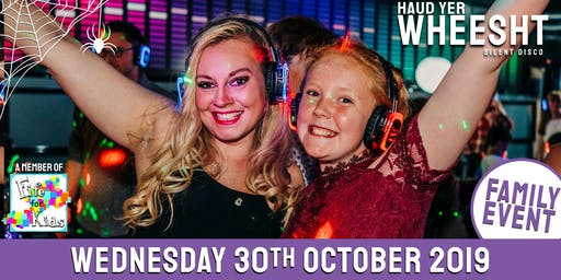 HYW Family Halloween Silent Disco at Cupar Corn Exchange