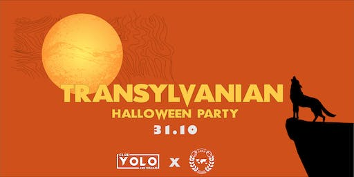 Transylvanian Halloween Party - Club YOLO x LSRS Olanda