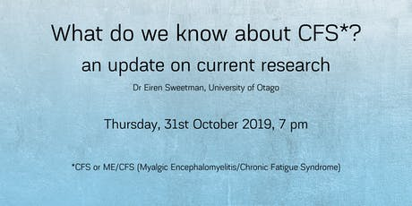 What do we know about Chronic Fatigue Syndrome? - an update on research tickets