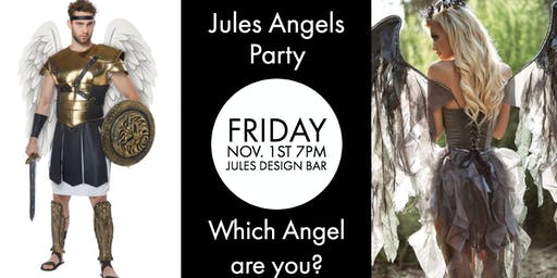 JULES ANGELS HALLOWEEN PARTY