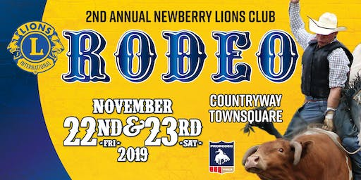 2nd Annual Newberry Lions Club Rodeo