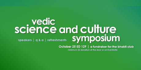 Vedic Science and Culture Symposium tickets