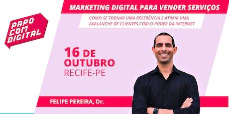Papo com Digital - Palestra Marketing Digital para Vender Serviços - Derby ingressos