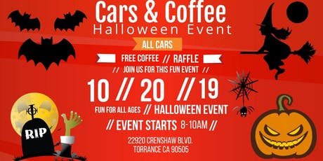 Halloween Community Event: Cars & Coffee tickets