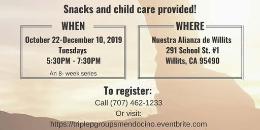 Triple P Parenting Group WILLITS [OCT 22, 2019 - DEC 10, 2019]