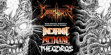 Draghoria with Swedish Metal Bands: Incarnit & Methane, and Theodros tickets