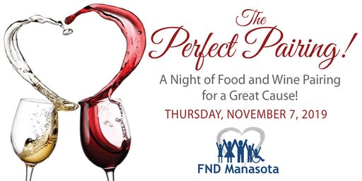 The Perfect Pairing! A Night of Food and Wine Pairing for a Great Cause!