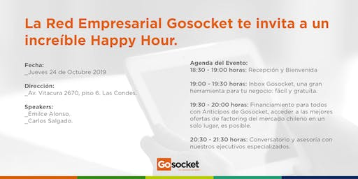 Gosocket te invita a un Happy Hour
