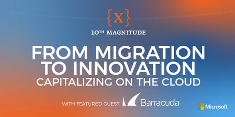 From Migration to Innovation: Capitalizing on the Cloud - Chicago tickets