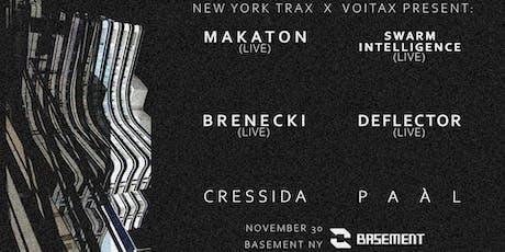 NEW YORK TRAX x VOITAX tickets