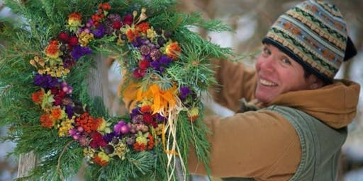 Natural Holiday Wreath Making Class