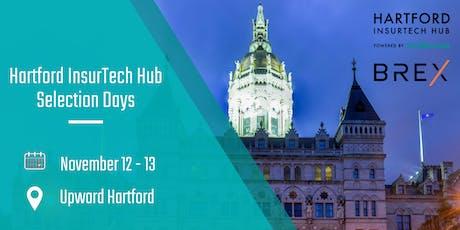Startupbootcamp's Hartford InsurTech Hub: Selection Days 2019 tickets