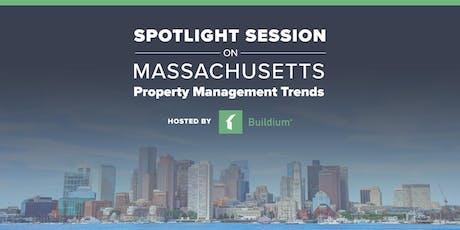 Spotlight Session on Massachusetts Property Management Trends tickets