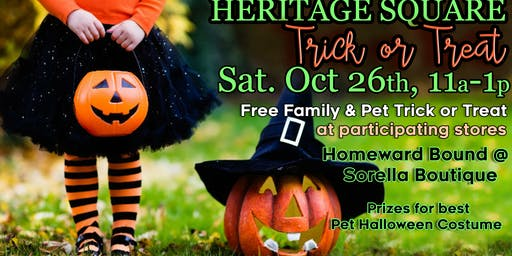 Trick or Treat 2019 @  Heritage Square Granger, IN