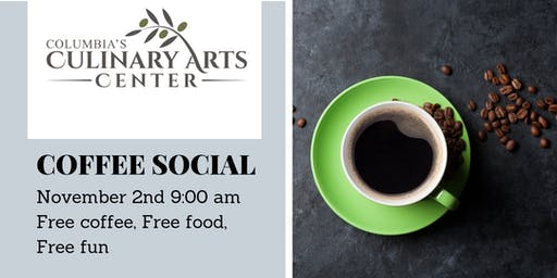 Free Community Coffee Social! With Secret Host!
