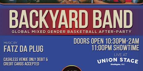 Backyard Band with music by Fatz Da Plug tickets