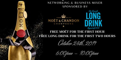 Champagne & Sushi Business Mixer: Sponsored By Moët
