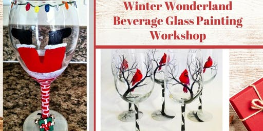 Christmas & Winter Glass Painting