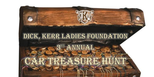 2020 Car Treasure Hunt! - Dick, Kerr Ladies Foundation, Preston
