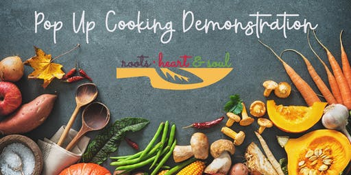 Cooking Demo: Fall Vegetables Vegan Style