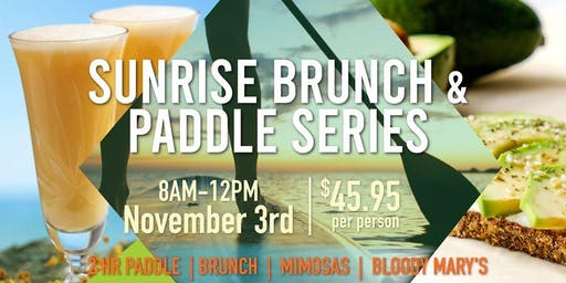Sunrise Brunch & Paddle Series