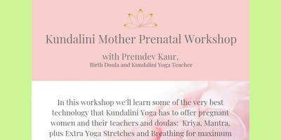 Kundalini Mother Prenatal Workshop