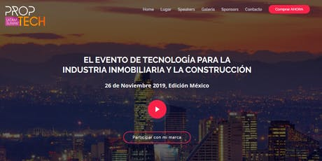 PropTech Latam Summit Edición Mexico boletos