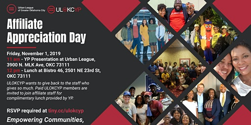 Urban League Staff Appreciation Day