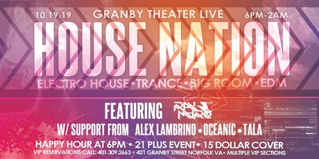 The Return Of House Nation | Granby Theater Live tickets