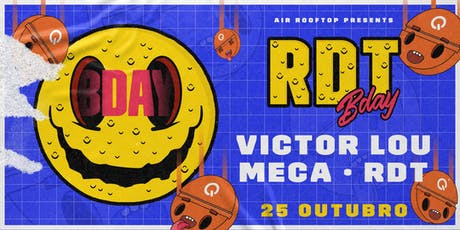 AiR Rooftop apres. RDT B-day ingressos