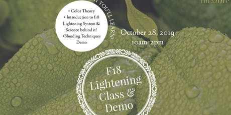 Formula 18 Lightening Class & Demo tickets