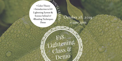 Formula 18 Lightening Class & Demo