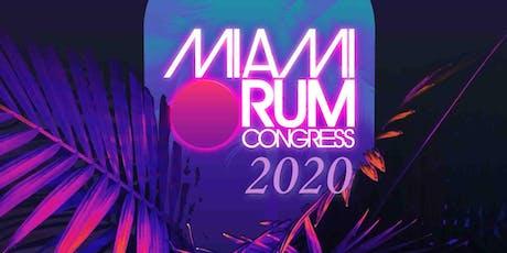 Miami Rum Congress 2020 tickets