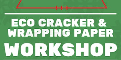 Make your own crackers & stamped wrapping paper - Eco Christmas Workshop