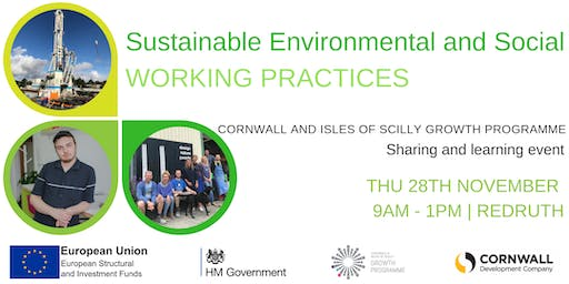 Sustainable Environmental and Social Working Practices
