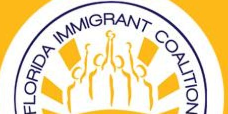 Volunteer with the Florida Immigrant Coalition tickets