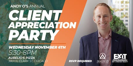 Andy O's Annual Client Appreciation Party tickets