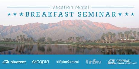Vacation Rental Breakfast Seminar - Big Bear, November 2019 tickets