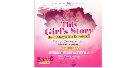 This Girl's Story - Teens Storytelling Experience tickets