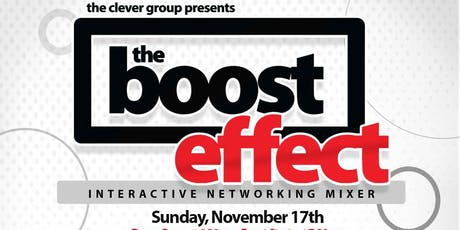 THE BOOST EFFECT tickets