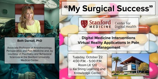"""My Surgical Success"" A Digital Behavioral Pain  Medicine Intervention"