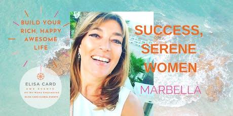 SUCCESS, SERENE WOMEN Mijas/Fuengirola tickets