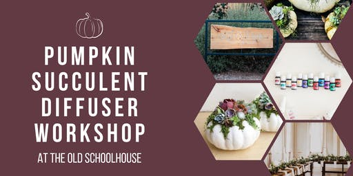 Fall Pumpkin Diffuser Workshop at The Old Schoolhouse!