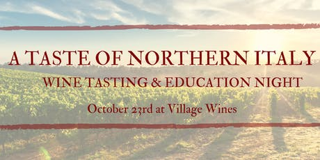 A Taste of Northern Italy tickets
