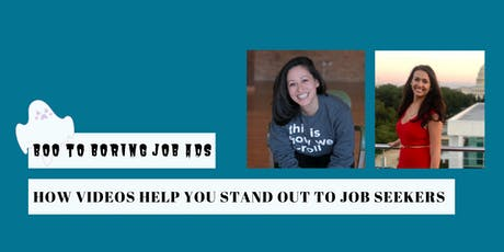 Boo to Boring Job Ads: How Video Helps You Stand Out to Job Seekers tickets