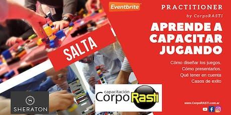 Practitioner by CorpoRASTI / Aprende a Capacitar Jugando! en SALTA entradas