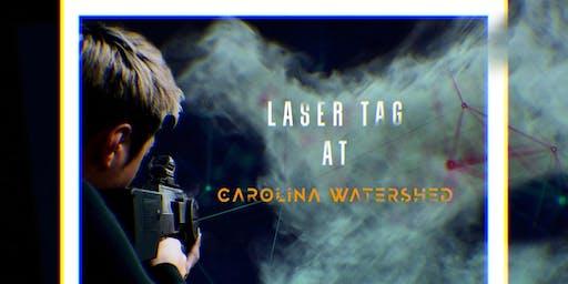 Laser Tag at Carolina Watershed