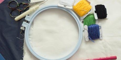 Modern Embroidery Workshop tickets