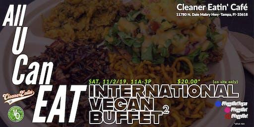 ALL U CAN EAT International Vegan Buffet²